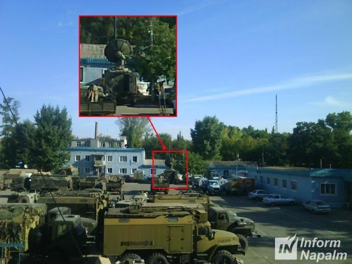 sekretnaja tehnika Rossii na Donbasse