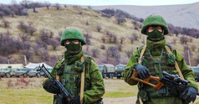 rossijskie voennye v Krymu