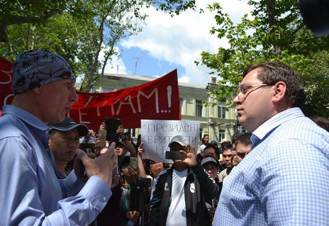 V Odesse v'etnamcy prosili pomoshhi u Poroshenko i prokuratury (7)