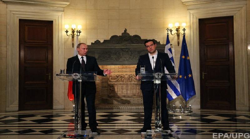 Путин в Греции