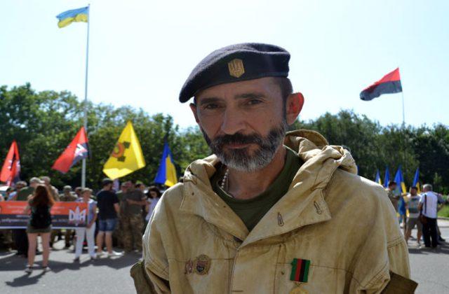 Замкомандира 8-го отдельного батальона Украинской добровольческой армии с позывным «Душман»