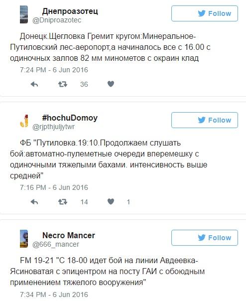 boj v Donecke
