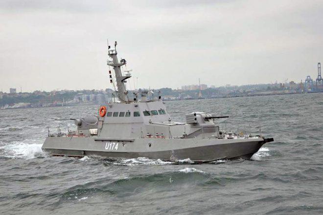Bronekatera Gjurza-M v Odesskom zalive (2)