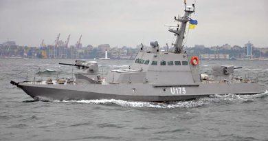 Бронекатера Гюрза-М в Одесском заливе