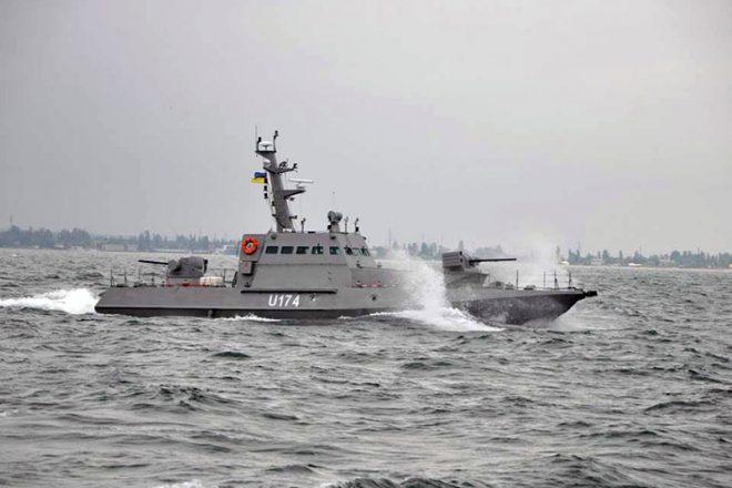 Bronekatera Gjurza-M v Odesskom zalive (5)