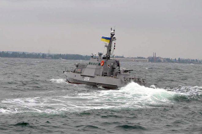 Bronekatera Gjurza-M v Odesskom zalive (6)