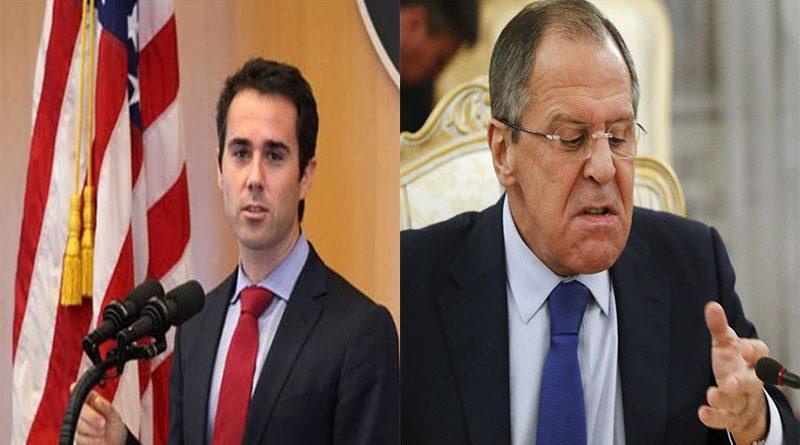 Посол США в ОБСЕ Дэниэл Баер и Глава МИД РФ Сергей Лавров