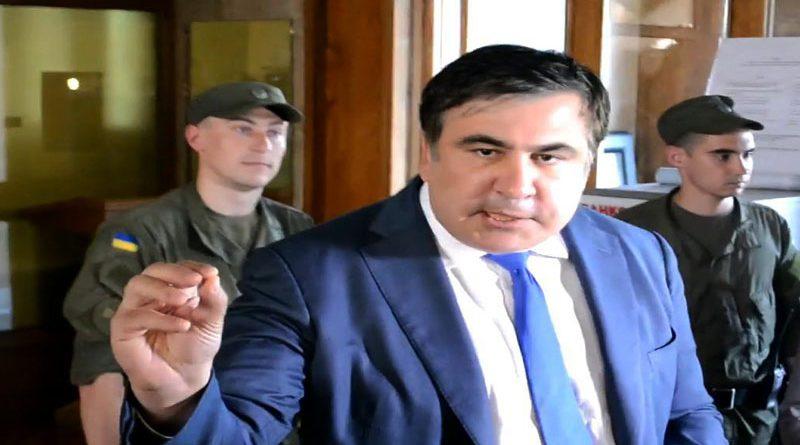 Saakashvili v jarosti prizval nakazat' shturmovavshih Odesskij oblsovet 1