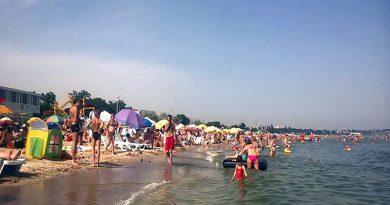 В Одессе пляжи забиты туристами