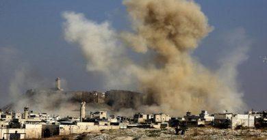 Бомбардировка Алеппо