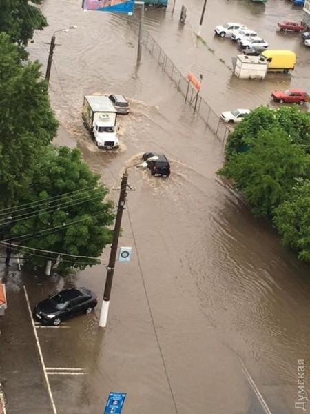 Odessu zatopilo