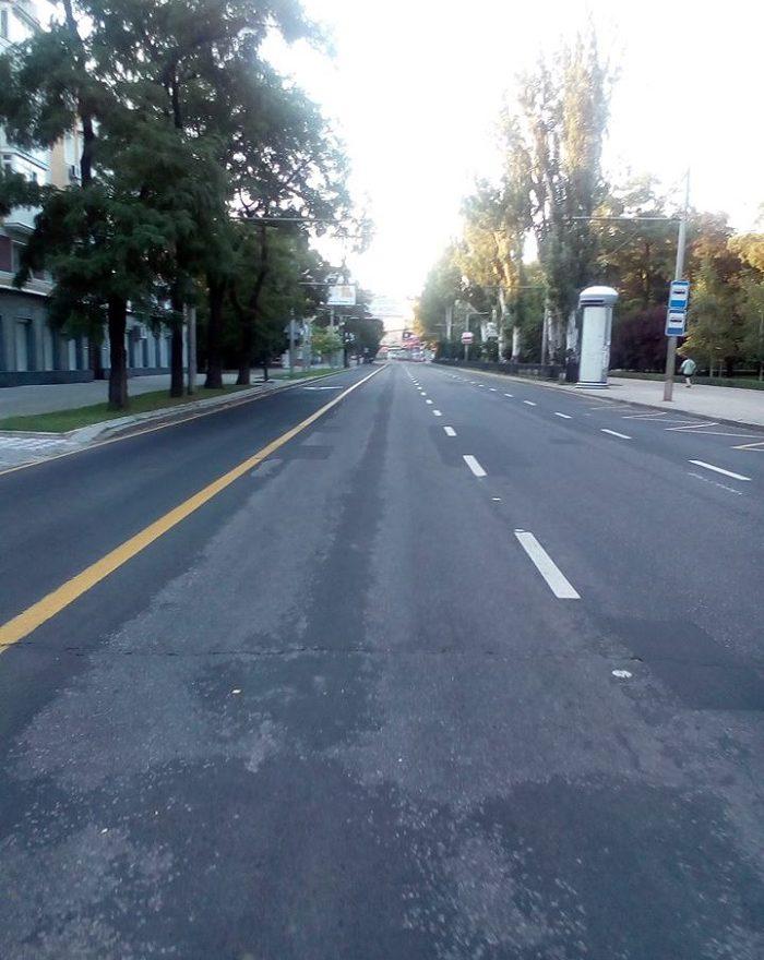 Пустота в Донецке