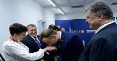 Savchenko na sammite NATO