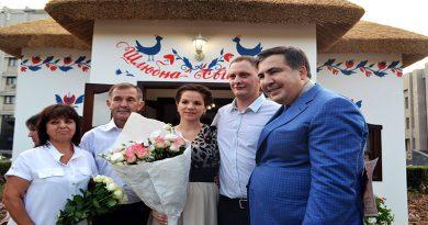 Saakashvili pozhenil odessitov po-novomu