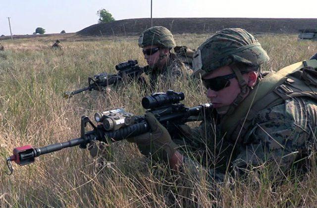 В Одесской области высадился американский десант