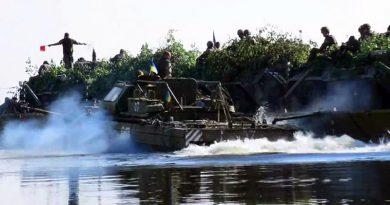 ВСУ с бронетехникой форсировали Днепр