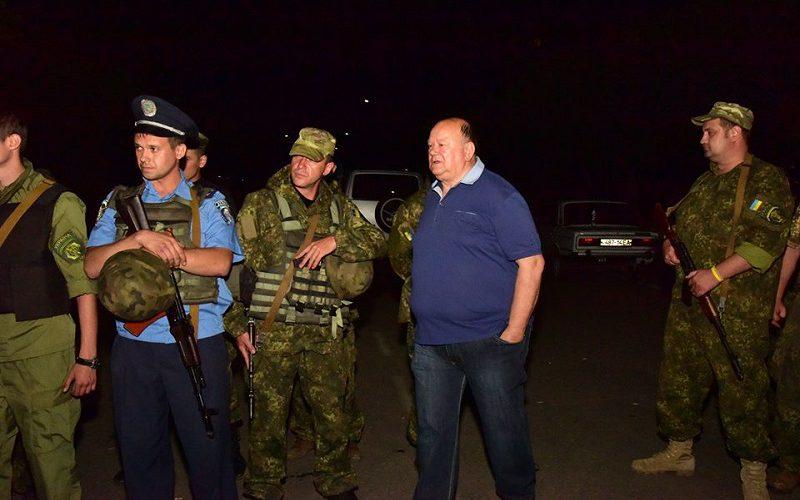Беспорядки на Донбассе
