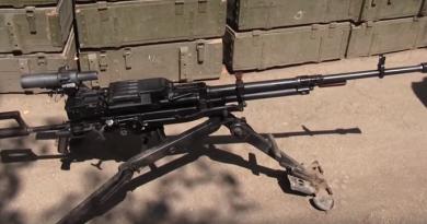 Bojcy ATO  zahvatili u terroristov ljubimoe oruzhie Porechenkova