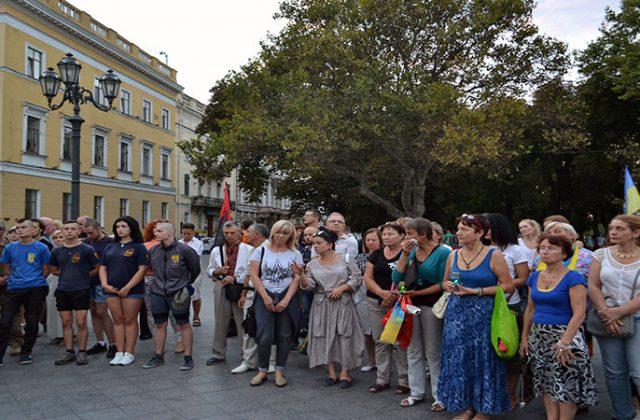 V Odesse pochtili pamjat' pogibshih pod Ilovajskom  (1)