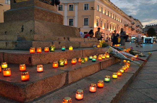 V Odesse pochtili pamjat' pogibshih pod Ilovajskom 2