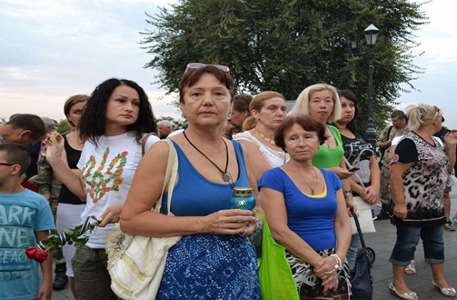 V Odesse pochtili pamjat' pogibshih pod Ilovajskom  (3)