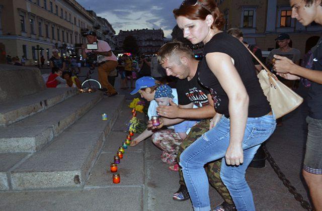 V Odesse pochtili pamjat' pogibshih pod Ilovajskom  (6)