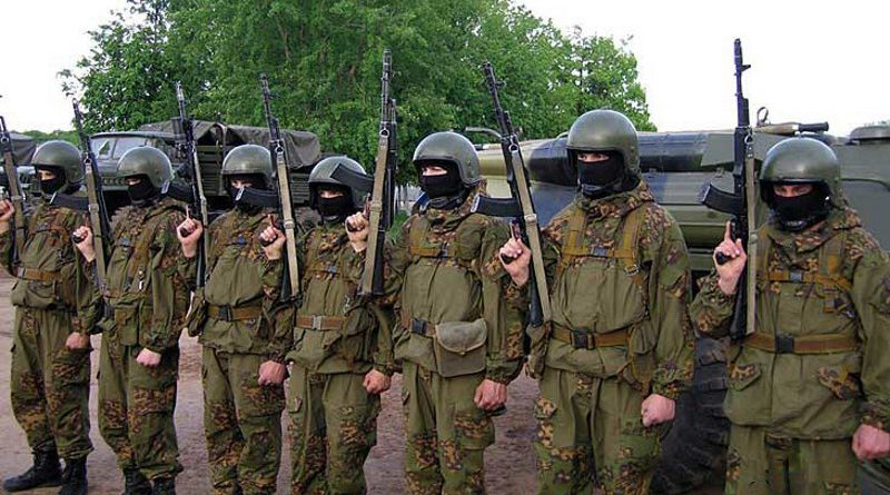 В Макеевку из России прибыл «заградительный отряд»