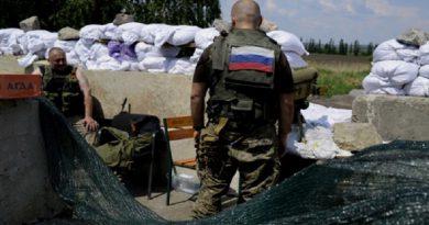 Rossijskie voennye na Donbasse