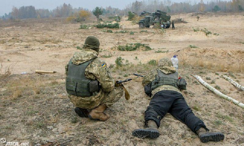 На Киевщине прошли учения со стрельбой из Градов