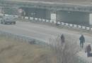 В сети появилось видео задержания дезертиров (ВИДЕО)