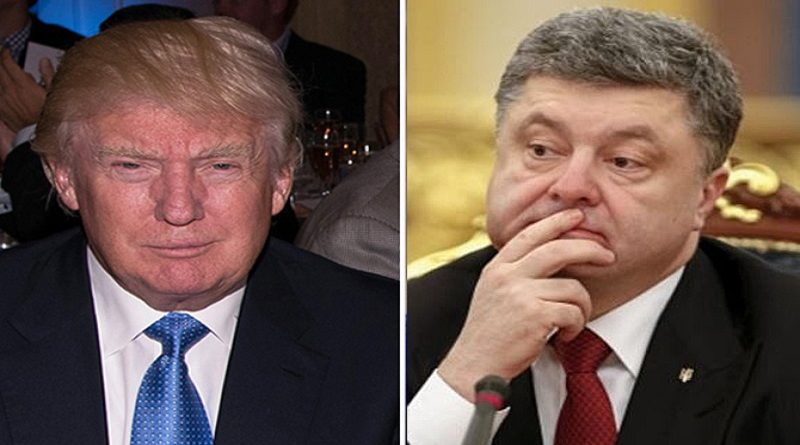 Poroshenko Tramp