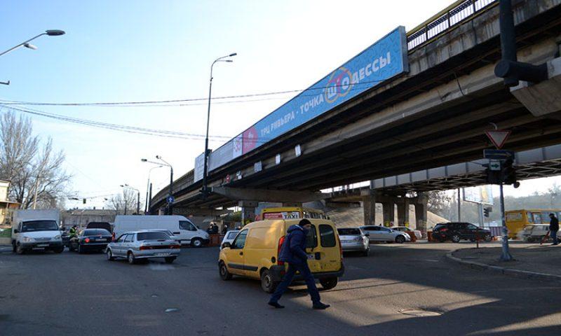 Транспортный коллапс в Одессе на Пересыпи