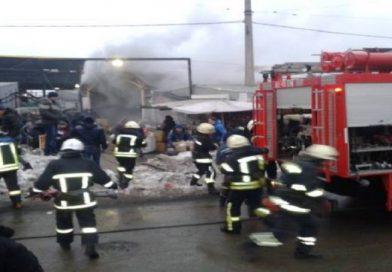 В сети появилось видео масштабного пожара на «Привозе» в Одессе (ВИДЕО, ФОТО)