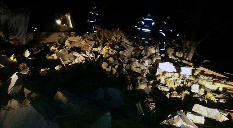 Pod Odessoj v Dobroslave vzorvalsja dom (1)