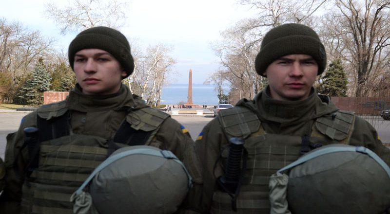 V Odesse patrioty sorvali prazdnik ljubiteljam sovka (1)