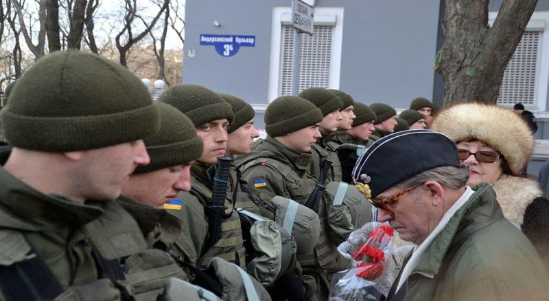 V Odesse patrioty sorvali prazdnik ljubiteljam sovka (5)