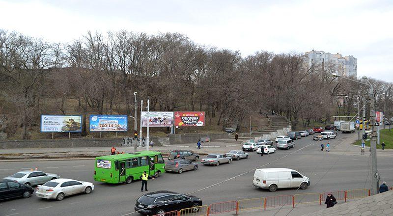 V Odesse na Peresypi ogromnye probki (2)