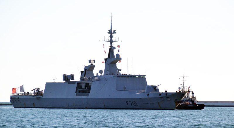 V Odessu zashel francuzskij raketnyj fregat-nevidimka Lafajet (4)
