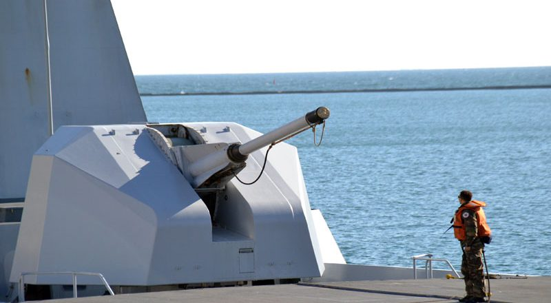 V Odessu zashel francuzskij raketnyj fregat-nevidimka Lafajet (5)
