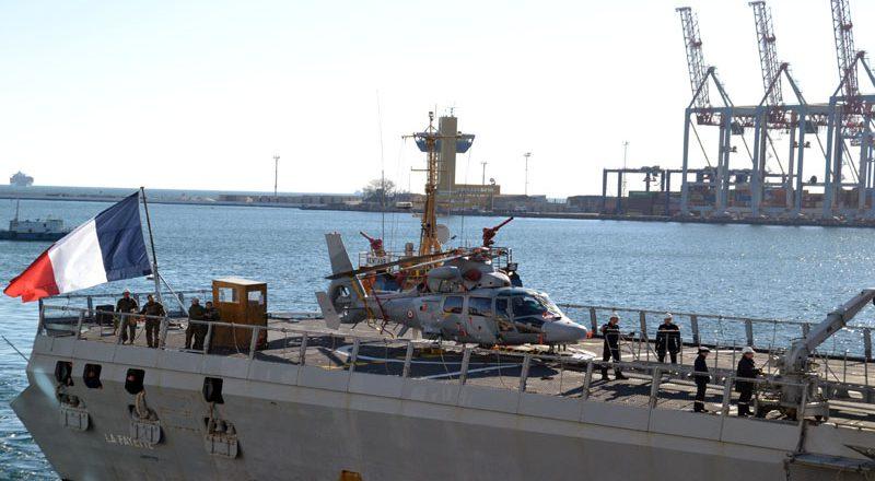 V Odessu zashel francuzskij raketnyj fregat-nevidimka Lafajet (6)
