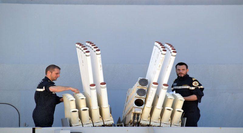 V Odessu zashel francuzskij raketnyj fregat-nevidimka Lafajet (7)