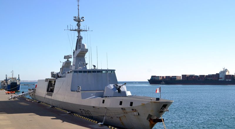 V Odessu zashel francuzskij raketnyj fregat-nevidimka Lafajet (9)