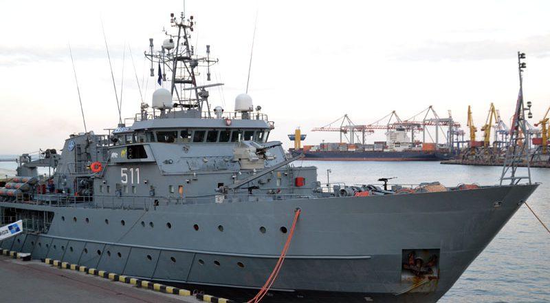 V Odessu zashla boevaja gruppa korablej NATO (3)