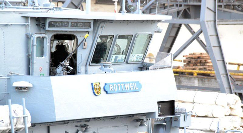 V Odessu zashla boevaja gruppa korablej NATO (5)