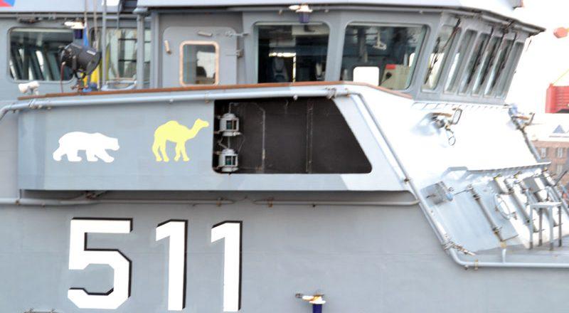 V Odessu zashla boevaja gruppa korablej NATO (7)