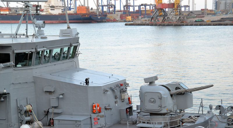 V Odessu zashla boevaja gruppa korablej NATO (9)