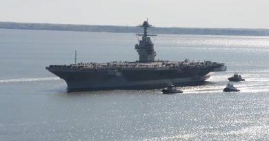 Авианосец USS Gerald R. Ford