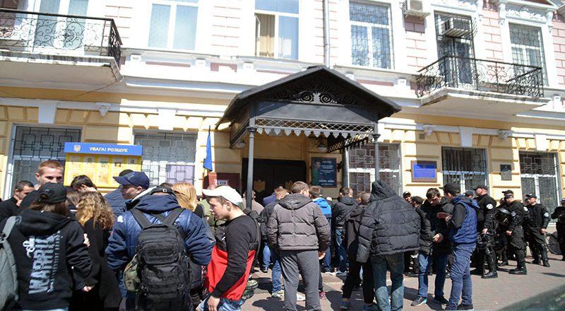 V Odesse policija zaderzhala bolee 20 patriotov (3)