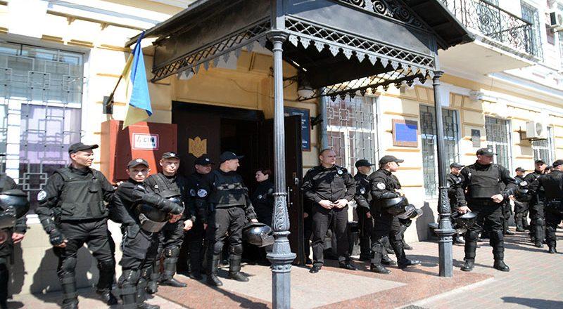 V Odesse policija zaderzhala bolee 20 patriotov (4)