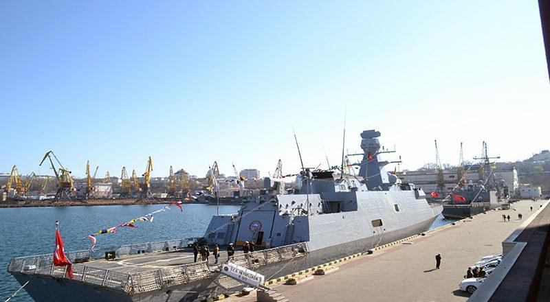 V Odessu zashla boevaja gruppa korablej VMS Turcii (12)